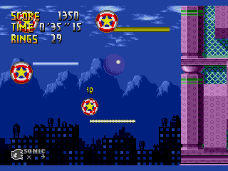 Screenshot Thumbnail / Media File 1 for Sonic the Hedgehog (USA, Europe) [Hack by Team Lost Land v4.0] (~Sonic - The Lost Land)